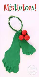 christmas mistletoe best 25 mistletoe footprint ideas on baby christmas