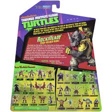 Walmart Halloween Makeup by Tmnt Rocksteady Action Figure Walmart Com