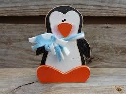 winter decor penguin decor winter decorations penguin