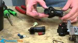 how to disassemble and reassemble the pump on a karcher electric