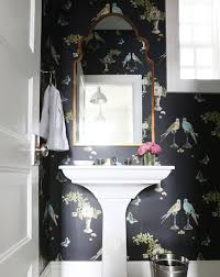 powder rooms with wallpaper 10 best wallpapered powder rooms from pinterest