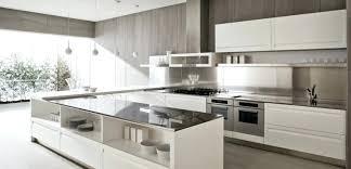 cuisine en u idee cuisine en u cuisine en u moderne et design en gris et blanc