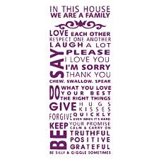 pattern fashion quotes fjs famous english family house rules quotes saying words we are a
