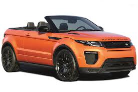 orange range rover range rover evoque convertible suv review carbuyer