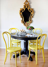 Yellow Chairs For Sale Design Ideas Small Dining Rooms That Save Up On Space