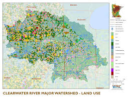 Chippewa National Forest Map Clearwater River Watershed Minnesota Nutrient Data Portal