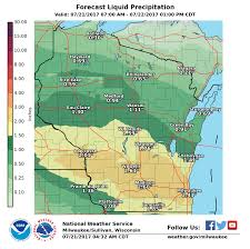 Map Of Southeast Wisconsin by Soggy Southern Wisconsin Set For More Severe Storms Flooding