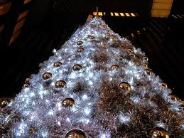 Decorative Trees With Lights 55 Appealing White Christmas Tree Decorating Ideas For A White