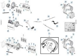 yj wrangler brake parts 4 wheel parts