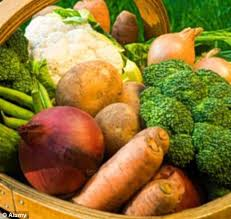 organic u0027not as healthy u0027 vegetables grown with pesticides contain