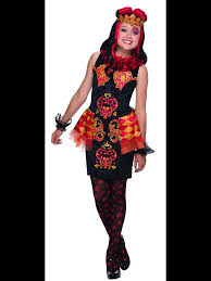 Monster High Halloween Costumes Girls Ever After High Lizzie Hearts Costume Ever After High Cosplay