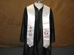 honor stoles alpha chi omega honor stole honor grads