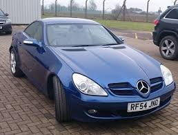 blue 2005 mercedes slk 350 rare manual slk 3 5 97k miles cream
