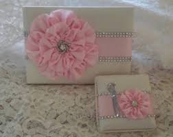 ivory wedding guest book wedding guest book ivory wedding guest book set wedding