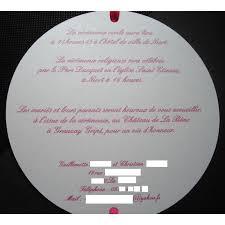 faire part mariage rond faire part mariage rond avec plume et ruban