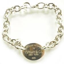 bracelet tag tiffany images Tiffany co sterling silver return to tiffany oval tag charm jpg