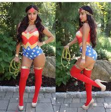 Superwoman Halloween Costumes Jumpsuit Piece Halloween Costume Costume Bodysuit