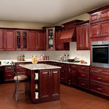 Cherry Wood Kitchen Cabinets With Black Granite Kitchen Cabinets Cherry Wood Zhis Me