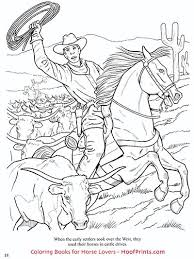 horses west coloring book www hoofprints