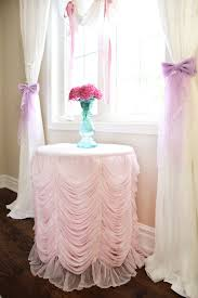 Shabby Chic Tablecloth by Ruffle Tablecloth