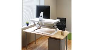 Sit Down Stand Up Desk by Workfit Tl Sit Stand Desktop Workstation Shop Ergotron Workfit