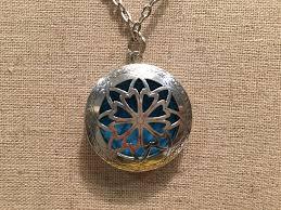 antique necklace pendant images Essential oil diffuser aromatherapy pendant necklace jewlery antique jpg