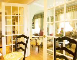 Inside And Out Where To Use French Doors - Dining room with french doors
