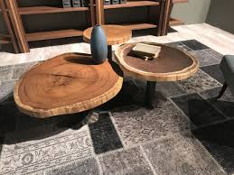 live edge coffee tables that capture nature u0027s beauty in their designs