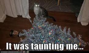 Cat Christmas Tree Meme - funny christmas tree cat merry christmas and happy new year 2018