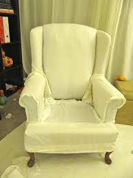 furniture wonderful slipcovers for wingback chairs canada lovely