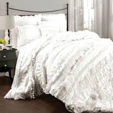 Ruffle Duvet Cover King White Textured Duvet Cover King Textured White Duvet Cover Twin