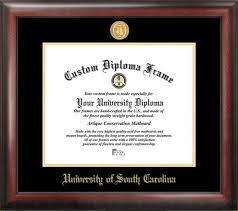 of south carolina diploma frame carolina gamecocks gold embossed diploma frame