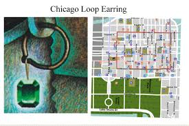 Grant Park Map Chicago by The Secret A Treasure Hunt Image 05