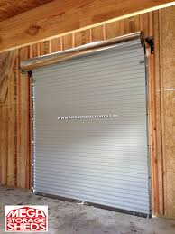 Residential Interior Roll Up Doors Exterior Inexpensive Roll Up Garage Doors Home Depot For Smart