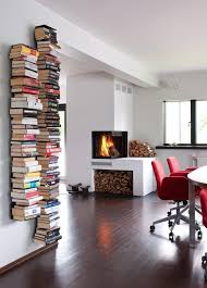 book stacking ideas how to make floating bookshelves business insider