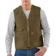 Rugged Clothing Carhartt Sandstone Rugged Vest V26 Mens And Womens Workwear At