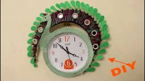Designer Clock by Diy Wall Clock Decoration Idea Designer Clock Decoration