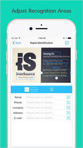 App For Scanning Business Cards Card Scanner Pro Scan Business Cards On The App Store