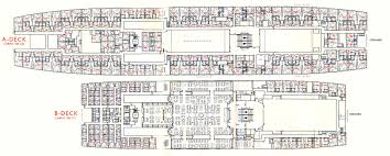 deck floor plan ss rotterdam v part 6 deck plans u0026 other images