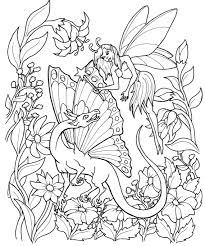 fantastical fairies coloring book pages color