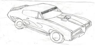 car drawing muscle car drawing by zomby0wolf on deviantart
