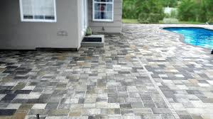 Cost Paver Patio Brick Pavers Cost Paver Patio Material Backyard Driveway