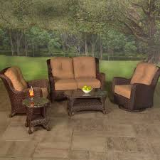 American Patio Furniture by Radisson Deep Seating Wicker Groupings Wicker Patio Furniture