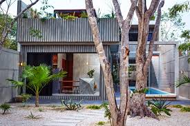 best 25 tiny cabin plans ideas only on pinterest small cabin plans a tropical vacation home in tulum
