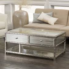 small mirrored coffee table table design all glass coffee table glass side table oval glass