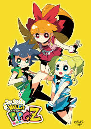 power puff girls zerochan anime image board