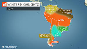 2016 south america winter forecast mainly weather to unfold