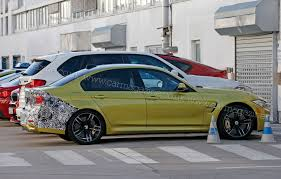 Bmw M3 2015 - bmw m3 facelift 2015 first sighting by car magazine