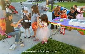 Halloween Party Ideas Children by Mama Gets It Done Halloween Block Party