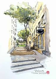 top 25 best landscape sketch ideas on pinterest nature drawing